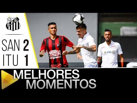 Santos 2 x 1 Ituano | MELHORES MOMENTOS | Paulistão (06/02/16)