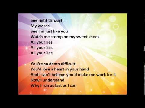 CHRISTINA PERRI Run lyrics