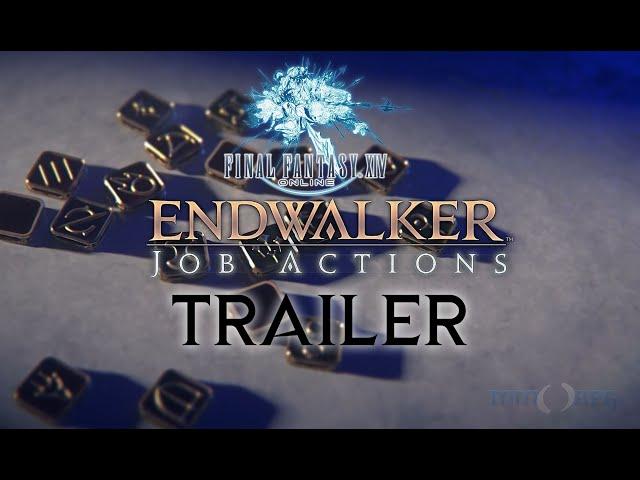 FINAL FANTASY XIV: ENDWALKER - Job Actions Trailer   Producers Letter Live