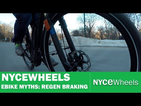 What does regenerative braking really do for your electric bike?