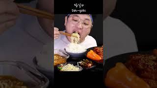 먹방 창배tv 닭갈비 맛있게 먹는법 mukbang Legend koreanfood asmr #shorts,