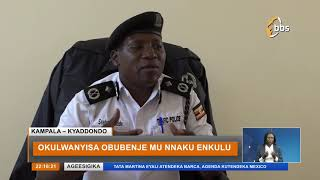 Omwogezi wa Poliisi y'ebidduka Charles Ssebambuulidde asambazze ebyokujjawo ebikwekweto thumbnail