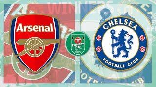 Match Day LIVE 2017/18 // Arsenal v Chelsea - Carabao Cup Semi-Final 2ng Leg