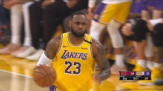 Los Angeles Lakers vs Cleveland Cavaliers 1st Half Highlights | January 13, 2019-20 NBA Season