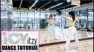 """ITZY """"ICY"""" Lisa Rhee Dance Tutorial"""