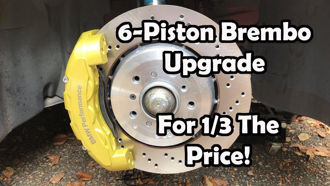 New BMW 7 Series >> 6-Piston Brembo Upgrade On A Budget (BMW M3) - YouTube