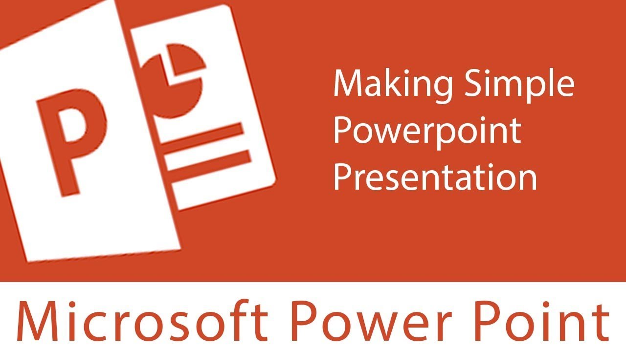 powerpoint making simple powerpoint presentation youtube