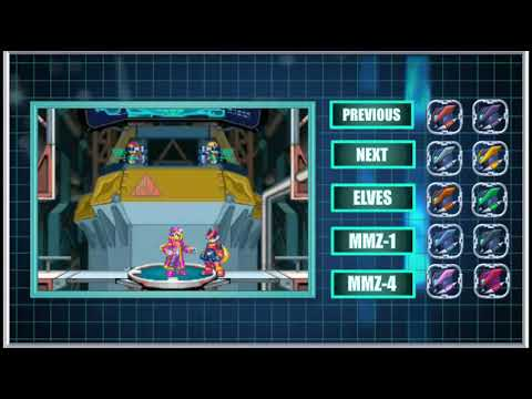 "NDS [Long Play] Megaman Zero 2 ~ All Forms + Elves + Skills ""Custom Soundtrack"""