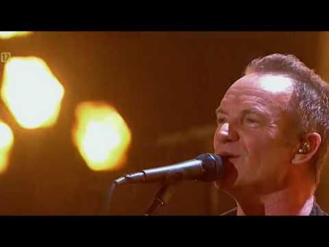 Sting - Message in a bottle (Live on Polish TV - Toruń 2016)