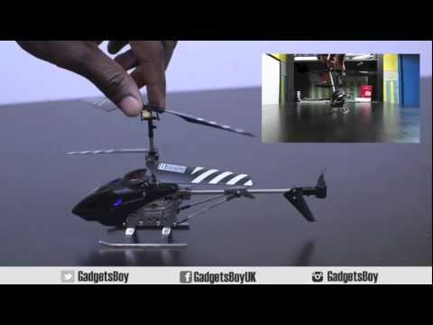 RC Helicopter BeeWi Storm Bee Android Hands On