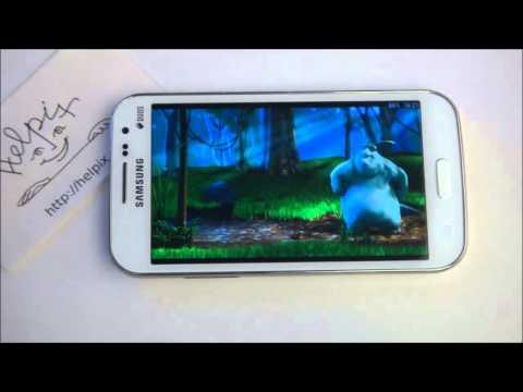 Samsung I8552 Galaxy Win DUOS - демонстрация работы
