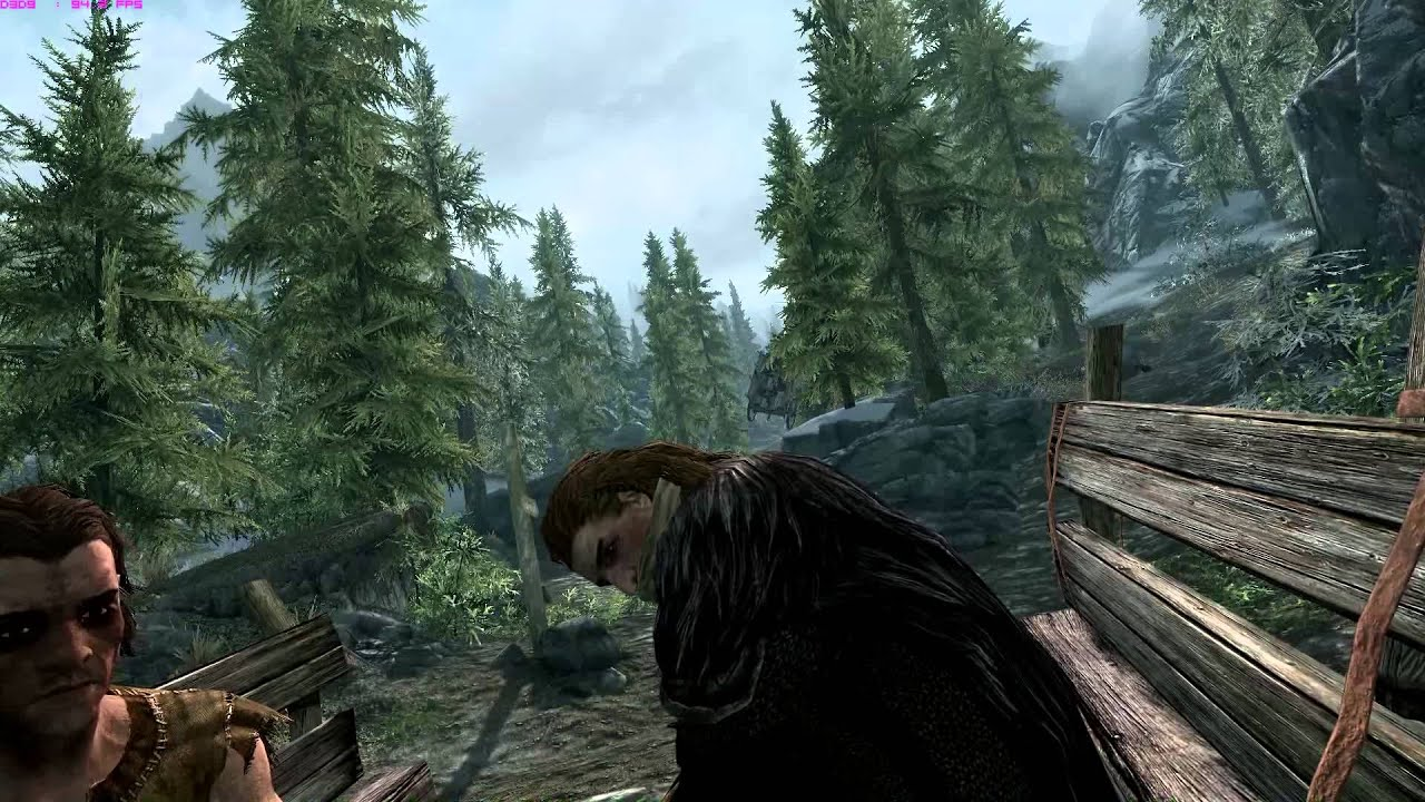 CRAZY CART WAGON RIDE! Elder Scrolls V Skyrim - YouTube