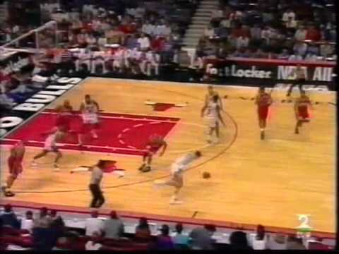NBA Action top 10 first half of 94-95 - YouTube