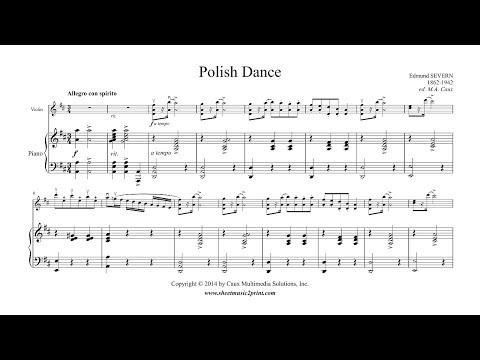 Severn : Polish Dance - Violin