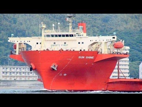 SUN SHINE - semi submersible heavy lift ship / 半潜水式重量物運搬船