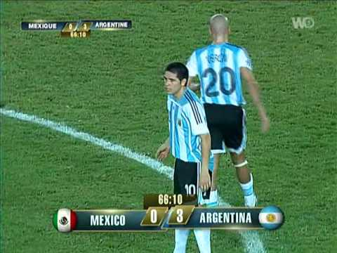 Argentina vs Mexico - Copa América 2007 - part 6/8 - YouTube