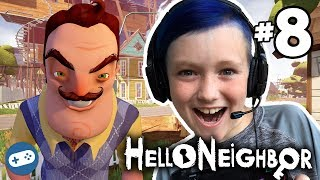 hello neighbor ps4 gameplay with liam part 8