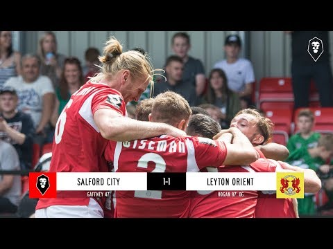 Salford City 1-1 Leyton Orient - National League 04/08