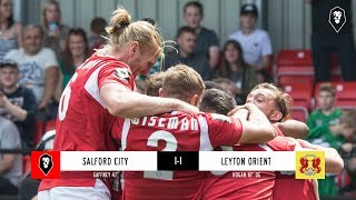 Salford City 1-1 Leyton Orient - National League 04/08