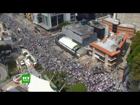 Une nouvelle manifestation contre Maduro à l'appel de Juan Guaido