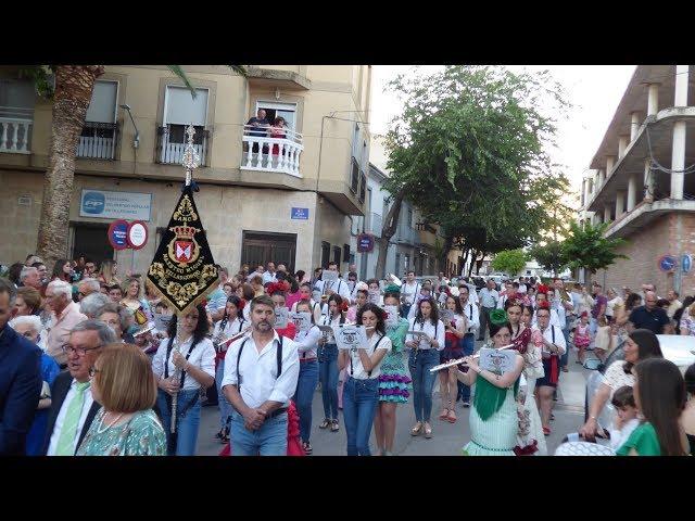 Procesión de la Virgen de las Flores 2019 en Villargordo | BM