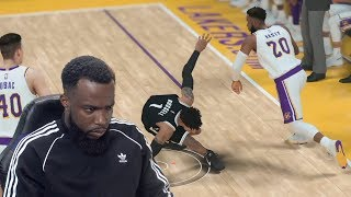 Hall Of Fame MyCareer Made Me RAGE QUIT! Lakers vs Nets Ep 42