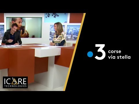 Retour du CES d'ICARE Technologies, Interview France 3
