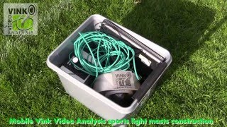 20160417  Mobile Vink Video Analysis Sports Light Masts construction