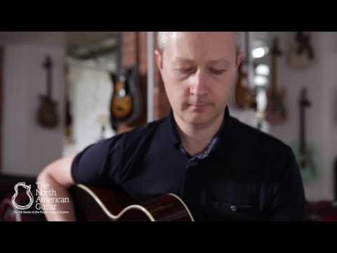 Bourgeois OM Vintage Sunburst Acoustic Guitar - Played by Stuart Ryan (Part 2)