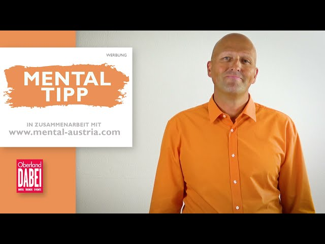 Oberland DABEI Mentaltipp - 20.10.2021