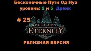 Прохождение Pillars of Eternity Дракон Дрейк, Бесконечные Пути Од Нуа уровень 2 и 5 # 25