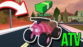 KUPIŁEM ATV / QUADA ZA 50.000$! W JAILBREAK • ROBLOX [#112]