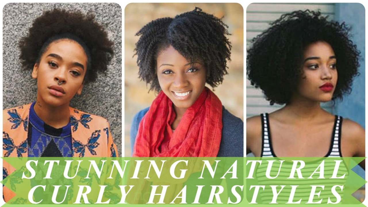 Stunning african american natural curly hairstyles - YouTube