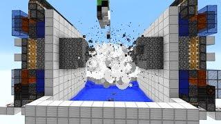 Vollautomatische Cobblestonefarm (160.000 Items pro Stunde)! - Minecraft Map
