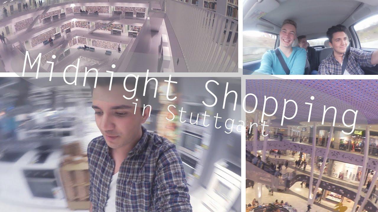 anstrengendes midnight shopping in stuttgart vlog hristos xenitidis youtube. Black Bedroom Furniture Sets. Home Design Ideas
