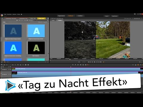 Tag zu Nacht Effekt mit Pinnacle Studio 20 Deutsch Video Tutorial Day for Night