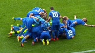 HNTV sažetak: DINAMO vs JUVENTUS 2:1 (2.kolo, Juniorska Liga prvaka 16/17)