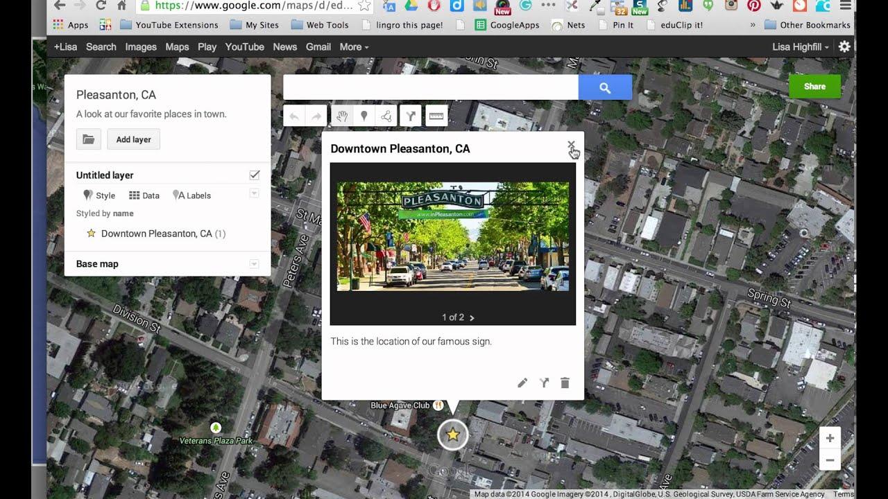 My MapsAdd Title Layers Labels To Google Maps YouTube - Plot my walk google maps