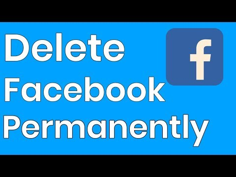 How To Delete Your Facebook Account PERMANENTLY | 2019