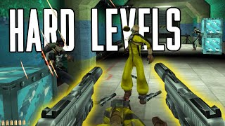 Hard Levels in FPS Games