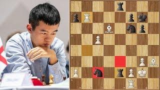 Liren Ding vs Adams || FIDE World Team Championship (2019)