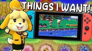 My Wishlist for Animal Crossing Switch! - QUICK THOUGHTS