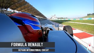 Formula Renault Onboard Lap - Sepang International Circuit