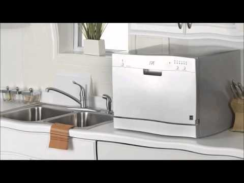 Countertop Dishwasher How To Install : Spt Countertop Dishwasher - YouTube