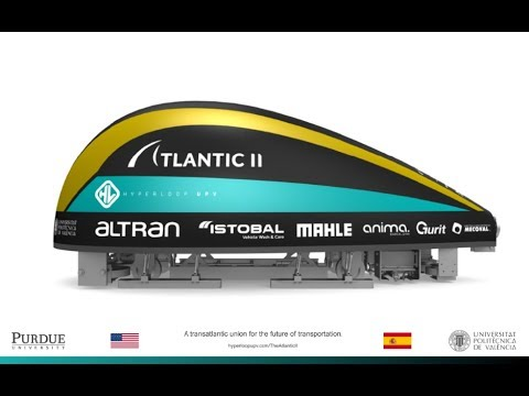 Hyperloop UPV - The Atlantic II - Hyperloop Pod Competition II