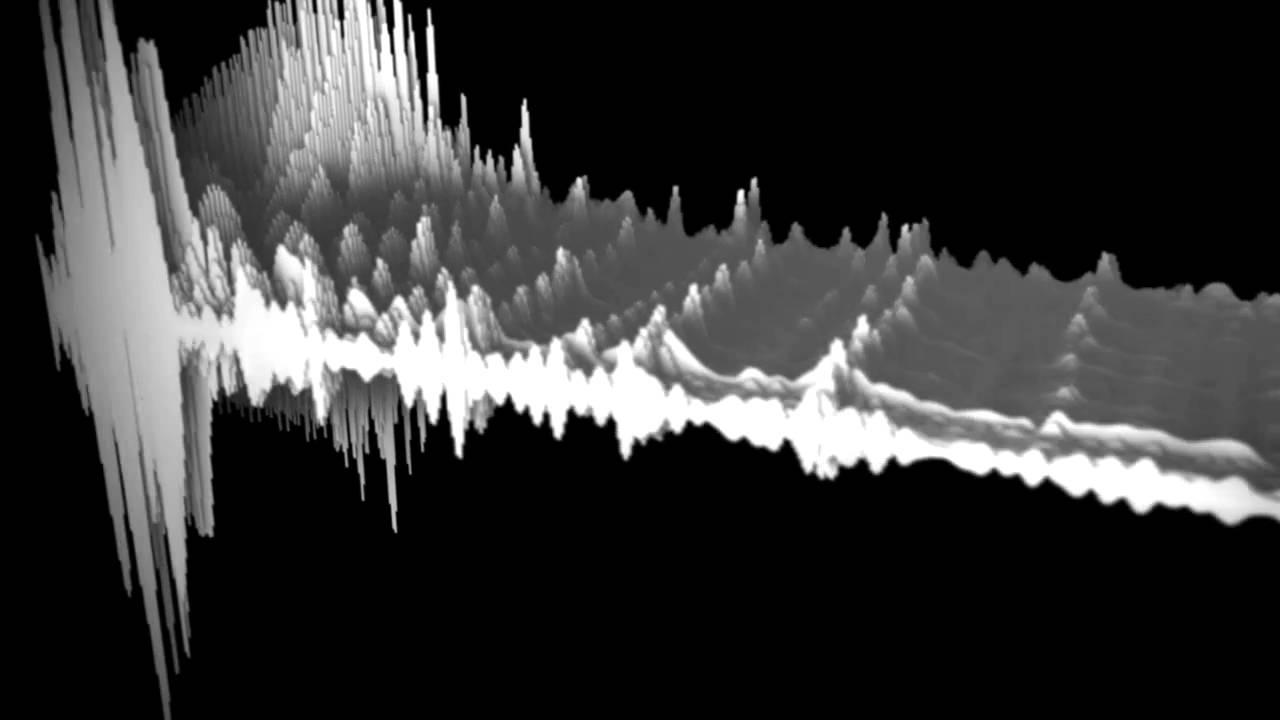 3d audio wave - YouTube  |3d Audio Waveform