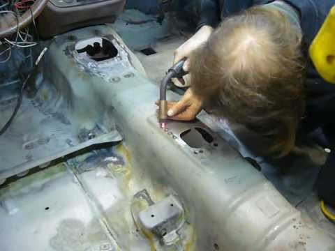 Part 15: Repairing The Transmission Tunnel - My 76 Mazda RX-