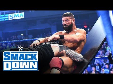 Roman Reigns Vs. Robert Roode – Tables Match: SmackDown, Jan. 17, 2020
