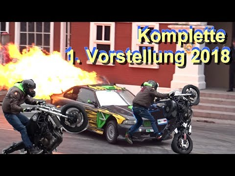 Movie Park Germany Crazy Cops New York 2018 - The Action Stunt Show - Saison Start 23.03.2018