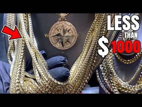 Take a LOOK at our Solid GOLD CHAINS Bestsellers ! Miami CUBAN, FRANCO, ROPE and MORE !